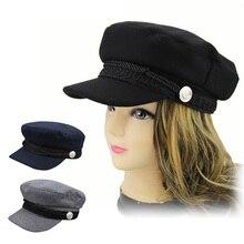 00236e831ea19 Las mujeres otoño boina caliente Chic Vintage clásico mujer sombrero de  invierno-MX8(China