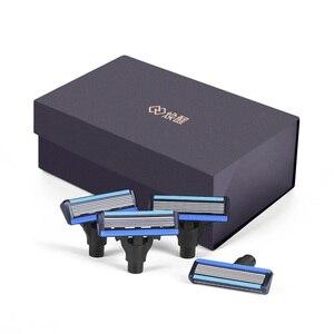 Image 3 - Youpin hommes rasoir magnétique remplacer les lames pour Mi Mijia hommes rasoirs pour rasoir seulement