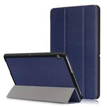 Чехол-подставка из искусственной кожи для huawei Mediapad T3 10 AGS-L09 AGS-L03 9,6 дюймов планшет+ 2 шт защита экрана(T3 10,0