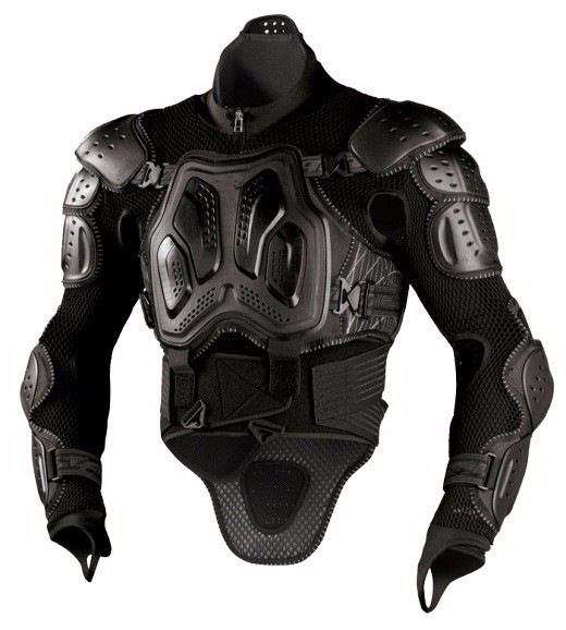 YENI Defense Racing chest and back protective motorcycle WAVE PRO Guard Armor Neck with JACKET