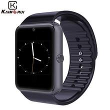 Gt08a envío gratis! usable dispositivos reloj inteligente con monitor de ritmo cardíaco para todos los teléfono android hombres mujeres muñeca reloj deportivo