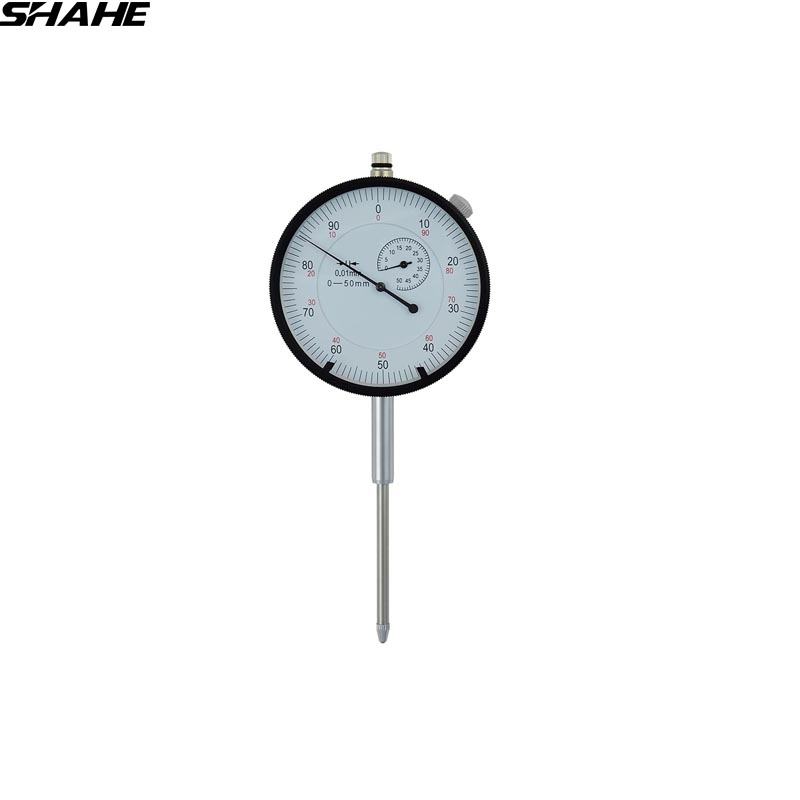 50 mm dial indicator gauge dial indicator 0.01 mm dial gauge indicator measuring instrument купить недорого в Москве
