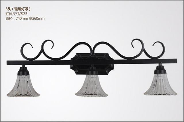 Bathroom Wash Wall Lamp Light Retro Bedroom Light European Style Simple  Garden Style Lamps And Lanterns
