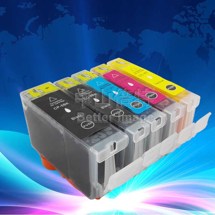 CARA 15 PCS dari tinta cartridge TINTA untuk PGI-5BK CLI-8BK/C/M/Y kartrid tinta kompatibel untuk IP4200 IP4300 IP4500 IP5200 IP5200R dll.
