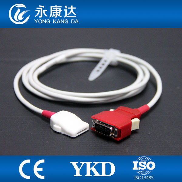 Masimo Radical 7 spo2 adapter cable, 20pins to LNOP 6pins