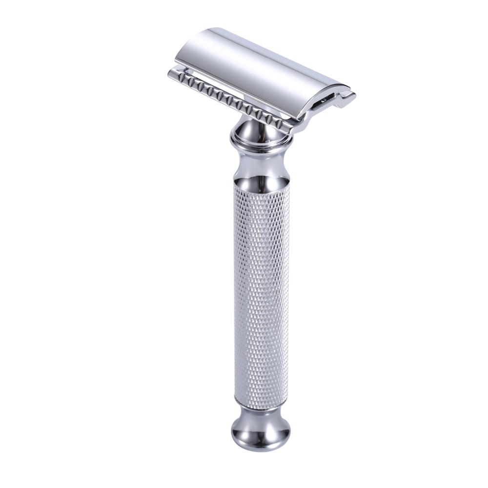Razors For Shaving Men Zinc Alloy Classic Safety Razor Blade Replaceable Double Edge Razors Manual Shaver