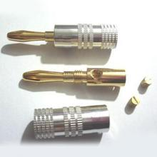 10pcs Gold Plated Audio Connector Binding Post Amplifier Speaker Cable Terminal Banana Plug Jack #0817
