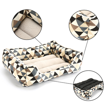 Colorful Triangle Bed Rectangular Shape for Cats and Dogs Beds & Sofas