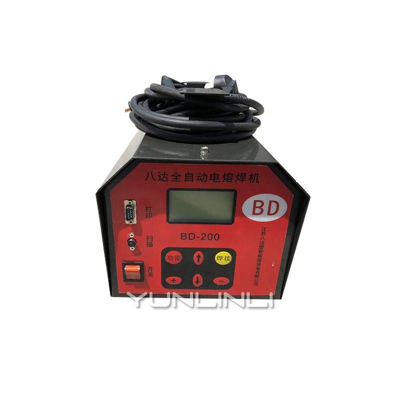 Machine de soudage bout à bout électrique 220 V gazoduc Machine de soudage automatique en acier maille squelette Tube thermofusible Machine BD 200 - 2