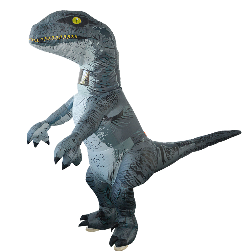 Learned 3d Adult Inflatable Dinosaur Costume Halloween Dress Party Cosplay Suit 4 X Aa Batteries/usb Power Supply Dinosaur Costume Moderate Price Costumes & Accessories