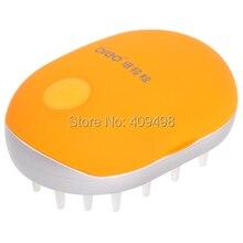 Брэо M319 оранжевый питание от аккумулятора мини-массажер для головы гребень