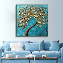Laeacco Canvas Calligraphy Painting Modern Flower Posters and Prints Floral Wall Artwork Picture for Living Room Home Decoration