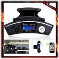 Steering Wheel Mount Bluetooth handsfree kit Car Kit Caller ID Handsfree Speaker + MP3 Player FM Transmitter,Free Shipping