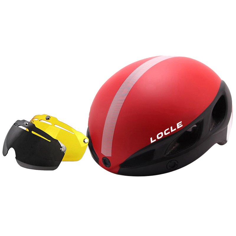 CE Certification Magnetic Goggles Cycling Helmet Ultralight Bicycle Helmet In-mold Casco Ciclismo Road Mountain Bike Helmet lowell настенные часы lowell 11809g коллекция glass page 3