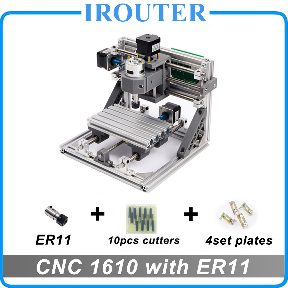 CNC 1610 with ER11 ,mini diy cnc laser engraving machine,Pcb Milling Machine,Wood Carving router,cnc1610,best Advanced toys цены