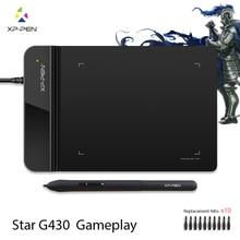 El XP Pluma G430 4×3 pulgadas Ultrafino Dibujo Tableta Gráfica para el Juego OSU y sin Pilas stylus diseñado! juego