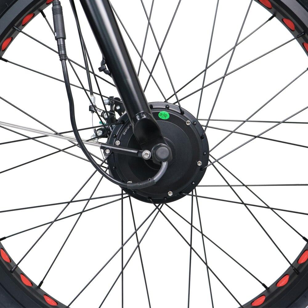 Baru Ebike 2WD Sepeda Lemak Listrik 48 V 11AH Baterai Lithium Sepeda - Bersepeda - Foto 5