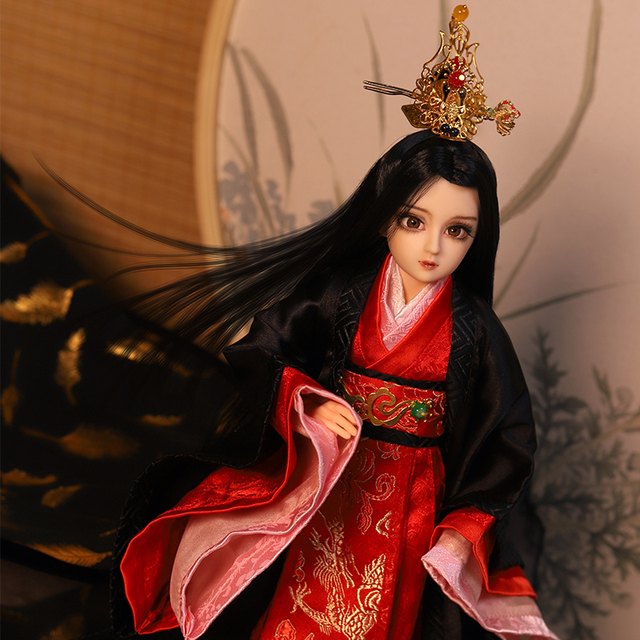 East Charm 35cm BJD New male body doll Chhangsun Wuji with clothes Suitable For DIY Original joint body F&D toys