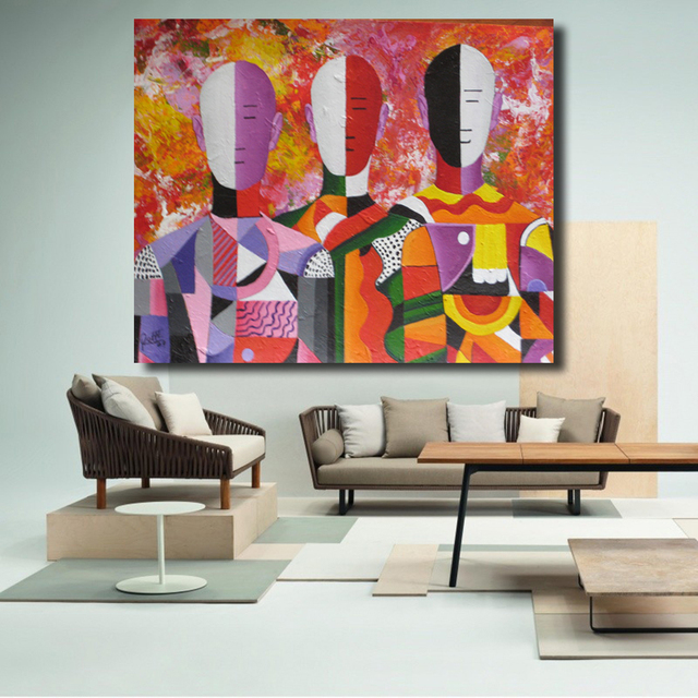 Emejing Schilderijen Woonkamer Pictures - Modern Design Ideas ...