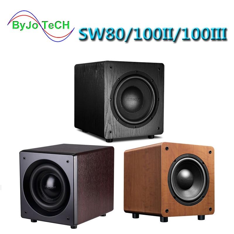 Nobsound SW80/SW100 8 inch 10 inch Active subwoofer speaker 5.1 surround sound HIFI high fidelity sound effect Home Theater колонка sonivo sw100 gold