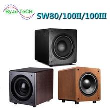 Nobsound SW80/SW100 8 inch 10 inch Active subwoofer speaker 5.1 surround sound HIFI high fidelity sound effect Home Theater все цены
