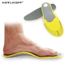 KOTLIKOFF Mousse + TPR Arch Support Respirant Absorption Des Chocs Coussin Sport Orthopédiques Semelles pour Chaussures Femme Hommes Chaussures accessoire