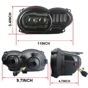 Image 3 - Led ヘッドライトアセンブリ新オートバイライト照明 DRL ミニタッチデジタイザースクリーン BMW R1200GS 2008 2009 2010 2011 保護カバー