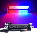 8 светодиодный красный/синий цвет желтый, синий; размеры 34-43 автомобиль полиции проблесковый свет строба тире аварийного Предупреждение 3 мигает - фото