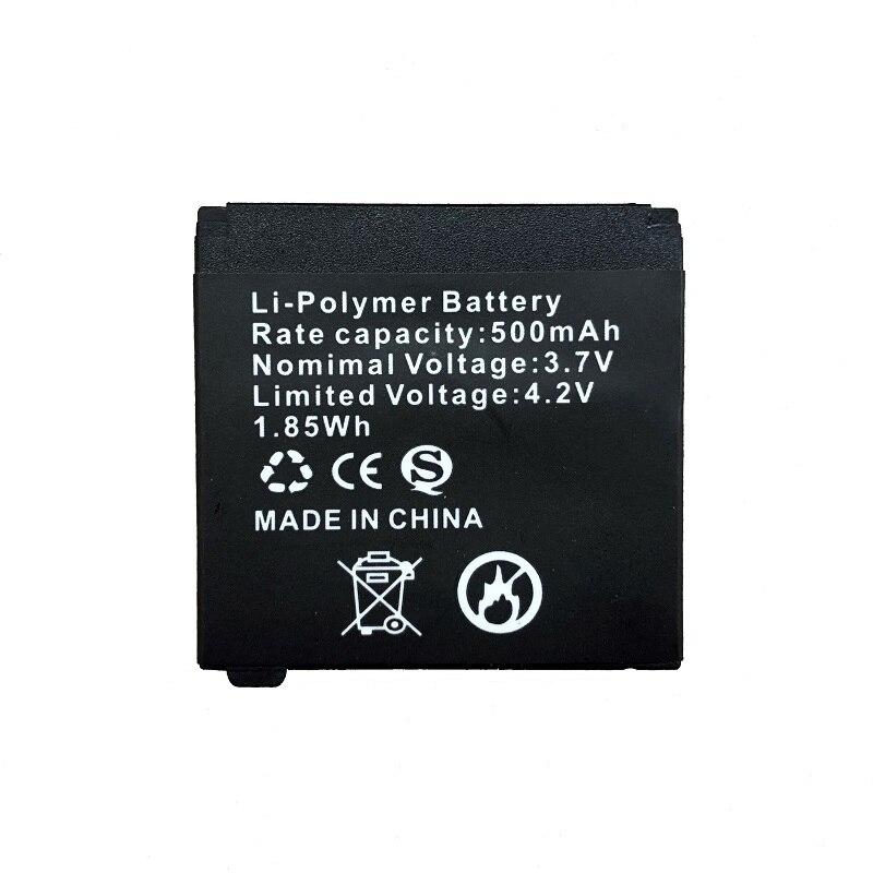 Reloj de repuesto batería para Q18 reloj inteligente, batería de repuesto para reloj inteligente Q18, batería recargable del polímero de Li, 500 Mah
