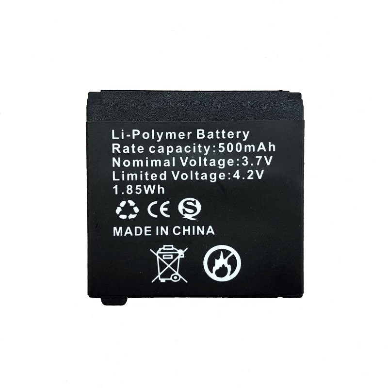 Replacement Watch Battery for Q18 Smart Watch,Spare Battery for Smart Clock Q18,Rechargeable Li Polymer Battery,500mah