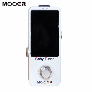 MOOER  Effect Guitar Pedal / Baby Tuner Very small and compact design free shipping