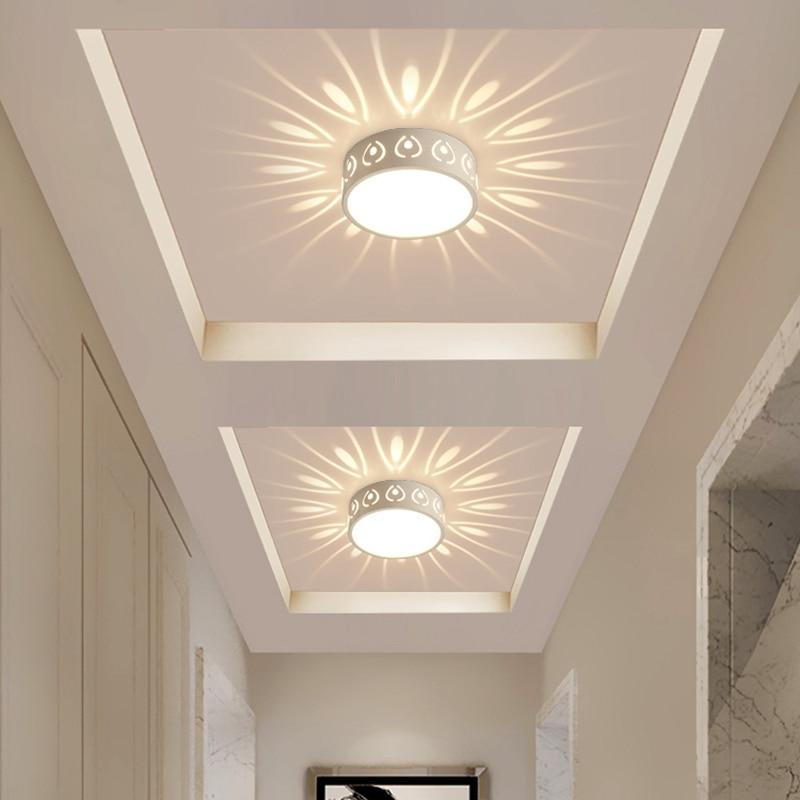 3W 5W 15W LED Embed Smallpox Modeling Light Ceiling Lamp Spot Lighting for Ceiling Corridor Doorway Innrech Market.com