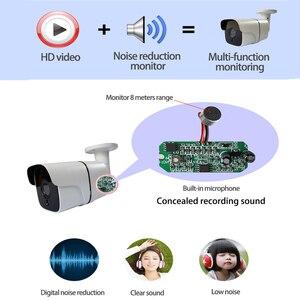 Image 4 - المدمج في الصوت H.265 IP كاميرا 1080P 3mp 5mp 2.8 مللي متر 3.6 مللي متر ONVIF P2P 48 فولت poe شبكة ipcam المعادن XMEye المراقبة xmeye CCTV