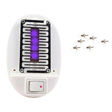 Random Colors LED Electric Mosquito Fly Bug Insect Trap Zapper Killer Night Lamp USA Plug Mosquito Killer