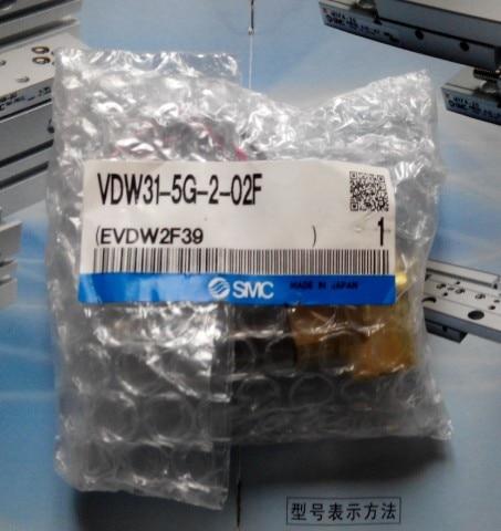 NEW JAPAN GENUINE VALVE VDW31-4G-2-02 AC220V Rc1/4 new original smc solenoid valve vt307 4g1 02 ac220v rc1 4