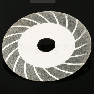 1Pc Dremel Accessories 100x20mm Carbon Steel Diamond Cutting Disc Grinding Wheel Disc for Glass Metal Rotary Tool Saw Blade Disc(China)