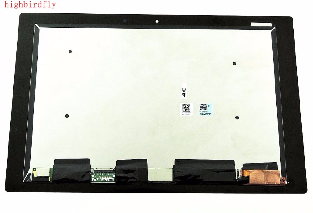 Highbirdfly For Sony Tablet Z2 SGP511 SGP512 SGP521 Lcd Screen Display+Touch Glass DIgitizer Together Full Set monitor 10 1for sony xperia tablet z2 sgp511 sgp512 sgp521 sgp541 sgp551 sgp561 touch glass digitizer panel screen lcd display assembly