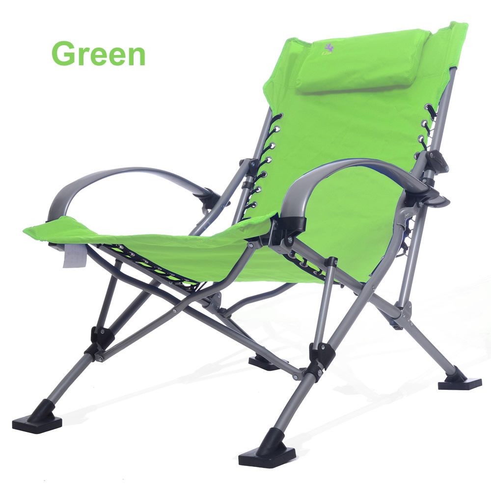 Beach lounge chair portable - Long Outdoor Picnic Camping Sunbath Beach Chair Zero Gravity Patio Lounge Chair Folding Foldable Recliner Chair