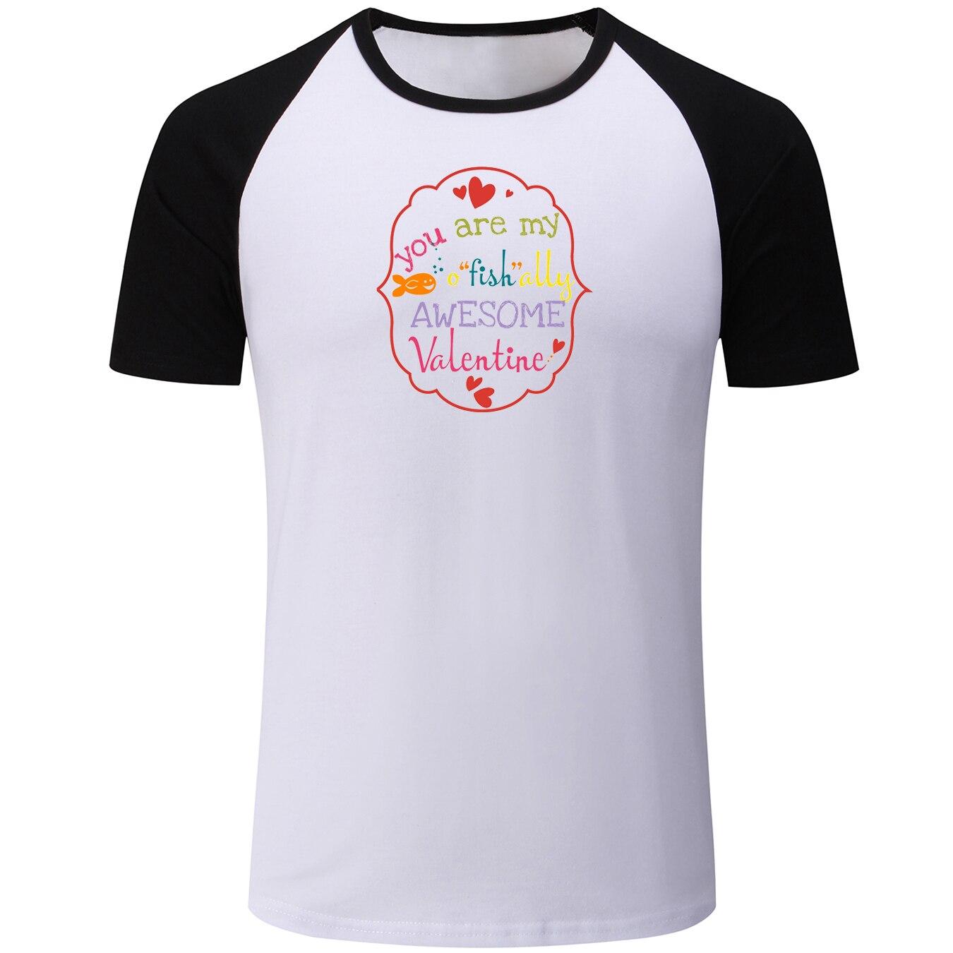 Веселый день воскресенье Мощность мама ты мой ofishally Awesome Валентина мужские летняя футболка Boys Graphic Tee Повседневное реглан футболки