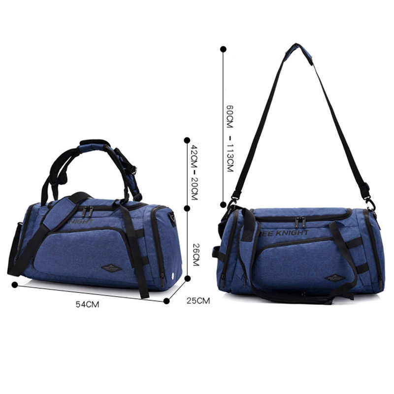 ... 2019 New Shoulder Sports Gym Bag For Fitness With Shoes Storage and Dry  Wet Separation Bag ... c972e181c5f53