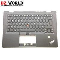 New Original for Lenovo Thinkpad X1 Carbon 4th Gen 4 MT: 20FB 20FC FR French Backlit Keyboard with Palmrest 01AV201 01AV162