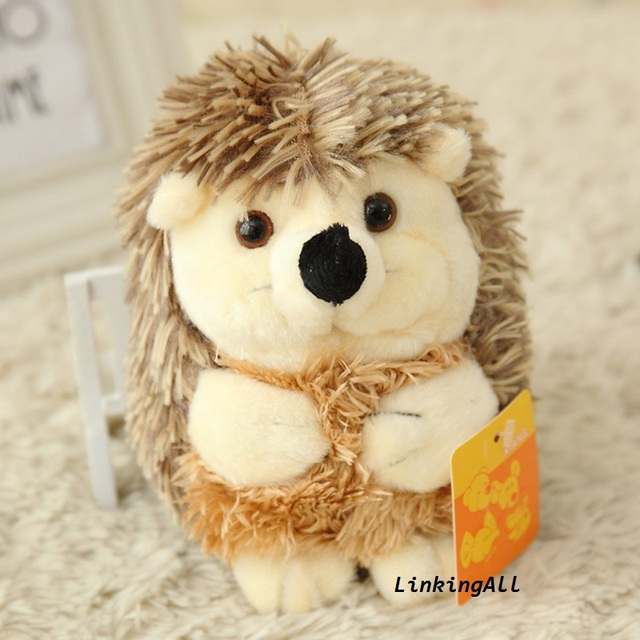 New Cute Soft Children Kids Hedgehog Animal Doll Stuffed Plush Toys Hot Sale Home Wedding Party Gifts for Girlfriends