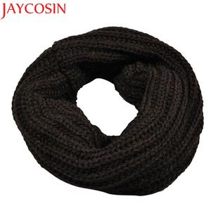 JAYCOSIN Shawl Wrap Circle Wool Scarf Warm-Collar Knitted Girl's Winter Autumn Boy's