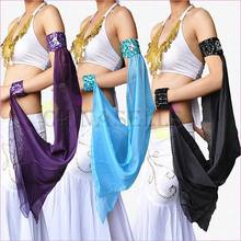 10pcs Indian dance Latin dance belly dance arm sleeve armband arm chain dance equipment cuff accessories dance dance dance