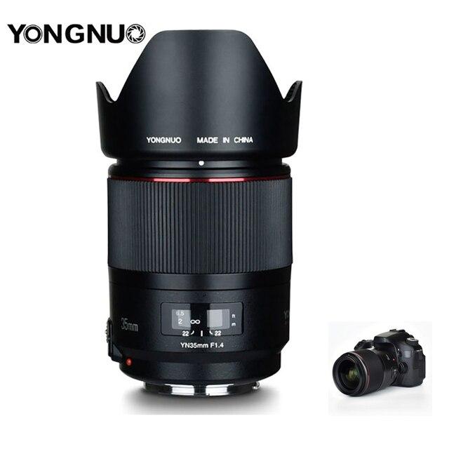 永諾 YN35mm F1.4 広角プライムレンズフルフレーム Lense 一眼レフカメラ用 70D 80D 5D3 マーク II 5D2 5D4 600D 7D2 6D 5D