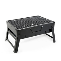 Portable BBQ Barbecue Grills Burner Oven Outdoor Garden Charcoal Barbeque Patio Party Cooking Foldable Picnic for 3 5 Person New