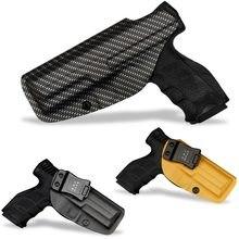 B.B.F Make IWB KYDEX Tático Coldre de Arma Personalizado Se Encaixa: HK VP9 SFP9-SF/TR Dentro Ocultaram Transportar Cintura Pistol Caso Clipe para Cinto