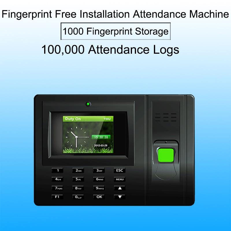 Système biométrique d'assistance aux employés système d'assistance au temps d'empreintes digitales USB enregistreur d'horloge bureau lecteur biométrique Machine