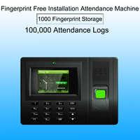 Biometric employee attendance system Fingerprint Time Attendance System USB Time Clock Recorder Office biometric reader Machine