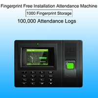 Biometric employee attendance system Fingerprint Time Attendance System USB Time Clock Recorder Office biometric reader Machine